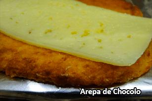 Arepa de Chocolo - Pan Caliente