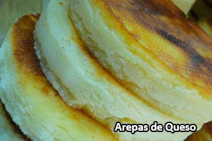 Arepas de Queso - Pan Caliente