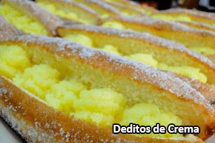 Deditos de Crema - Pan Caliente